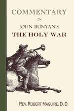 Commentary on John Bunyan's the Holy War:  Selected Stories