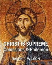 Christ Is Supreme