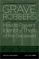 Grave Robbers:  How to Prevent Identity Theft of the Deceased