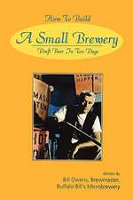 How to Build a Small Brewery