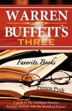Warren Buffett's 3 Favorite Books