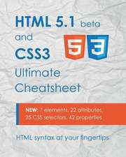 HTML 5.1 & Css3 Ultimate Cheatsheet