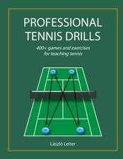 Professional Tennis Drills (Letter)