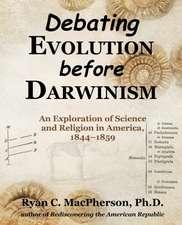 Debating Evolution Before Darwinism