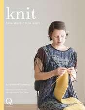 Knit: first stitch / first scarf
