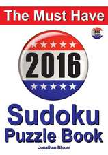 The Must Have 2016 Sudoku Puzzle Book