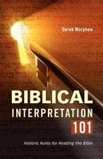Biblical Interpretation 101