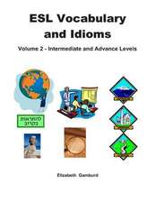 ESL Vocabulary and Idioms Book 2