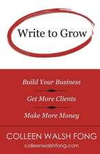 Write to Grow