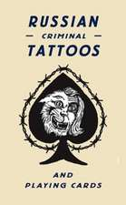 Russian Criminal Tattoo Playing Cards