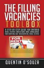The Filling Vacancies Toolbox