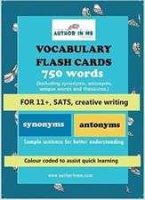 Vocabulary Flash Cards: 11+, SATs, Creative Writing