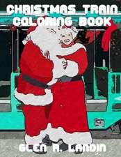 Christmas Train Coloring Book