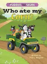 Puddles the Skunk in Who Ate My Corn?