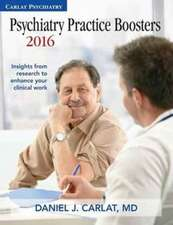 Psychiatry Practice Boosters 2016