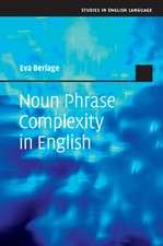 Noun Phrase Complexity in English