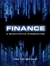 Finance: A Quantitative Introduction