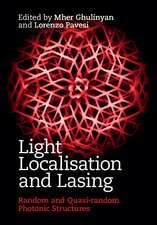 Light Localisation and Lasing: Random and Quasi-random Photonic Structures