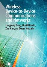 Wireless Device-to-Device Communications and Networks