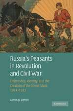 Russia's Peasants in Revolution and Civil War: Citizenship, Identity, and the Creation of the Soviet State, 1914–1922