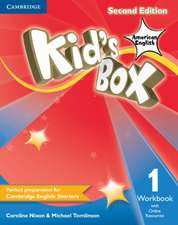 Kid's Box American English Level 1 Workbook with Online Resources