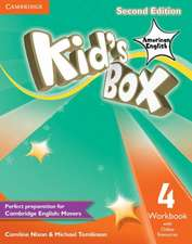 Kid's Box American English Level 4 Workbook with Online Resources