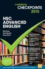 Dixon, M: Cambridge Checkpoints HSC Advanced English 2015