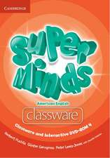 Super Minds American English Level 4 Classware and Interactive DVD-ROM
