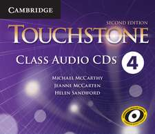 Touchstone Level 4 Class Audio CDs (4)