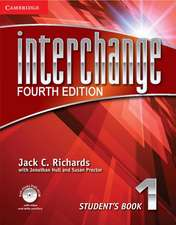 Interchange Level 1 Student's Book with Self-study DVD-ROM