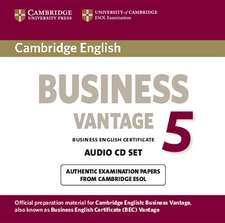 Cambridge English Business 5 Vantage Audio CDs (2)
