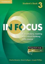 In Focus Level 3 Student's Book with Online Resources