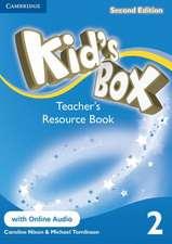 Kid's Box Level 2 Teacher's Resource Book with Online Audio