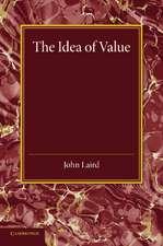 The Idea of Value