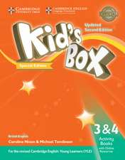 Kid's Box Updated L3 and L4 Activity Book with Online Resources Turkey Special Edition: For the Revised Cambridge English: Young Learners (YLE)