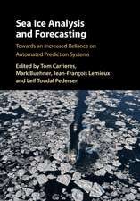 Sea Ice Analysis and Forecasting: Towards an Increased Reliance on Automated Prediction Systems