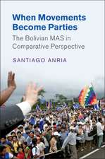 When Movements Become Parties: The Bolivian MAS in Comparative Perspective