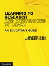 Learning to Research and Researching to Learn: An Educator's Guide