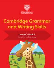 Cambridge Grammar and Writing Skills Learner's Book 4