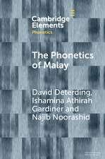 The Phonetics of Malay