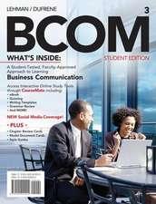 Lehman, C: Business Communication