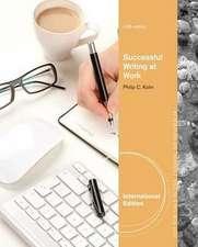 Successful Writing at Work, International Edition
