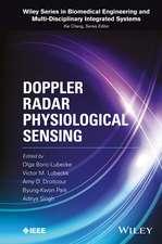 Doppler Radar Physiological Sensing
