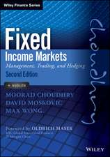 Fixed Income Markets: Management, Trading and Hedging