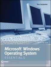 Microsoft Windows Operating System Essentials