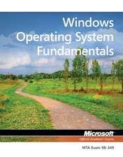 Exam 98–349 MTA Windows Operating System Fundamentals