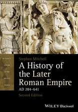 A History of the Later Roman Empire, AD 284–641
