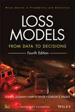 Loss Models: From Data to Decisions