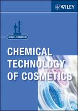 Kirk–Othmer Chemical Technology of Cosmetics