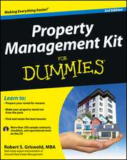 Property Management Kit for Dummies [With CDROM]:  The Path to Creating a Brighter Brand, a Greater Company, and a Lasting Legacy